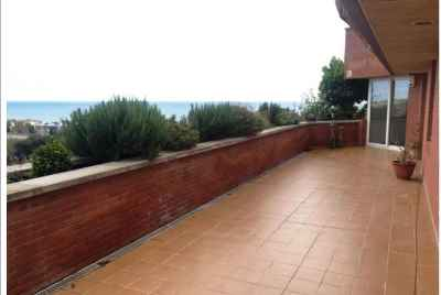 Apartment in Sitges with breathtaking sea view